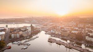 helsinki, finnish, sunset